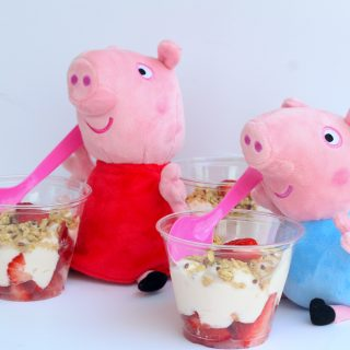 Making breakfast fun for your Peppa Pig fan {Featuring Peppa's Yogurt Parfait Recipe}