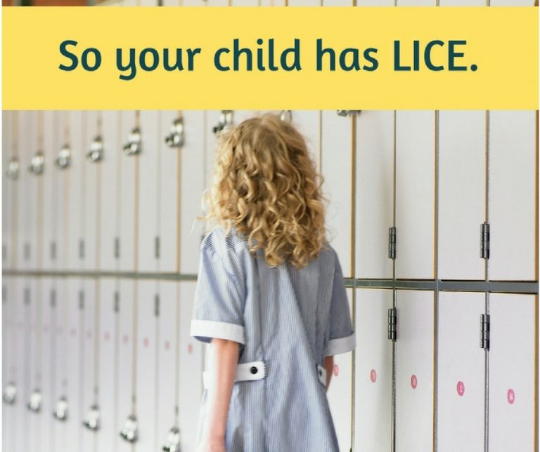 So your child has lice. Now what?