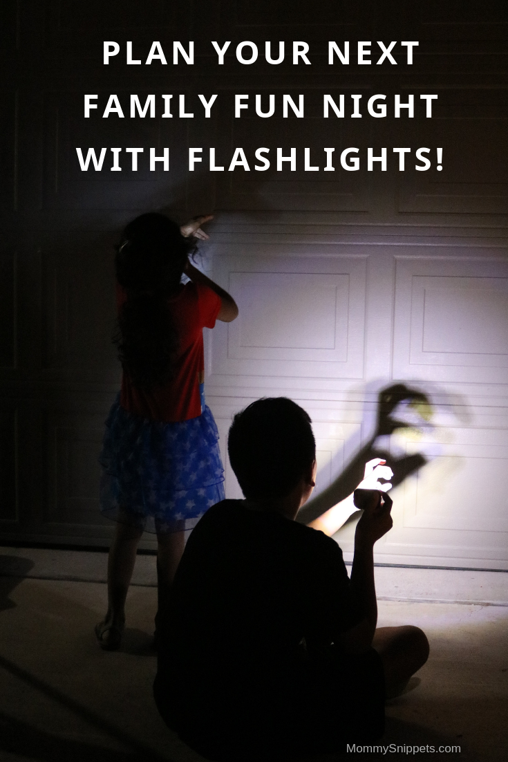 Plan your next Family Fun Night with flashlights! - MommySnippets.com #Sponsored #AWRootBear