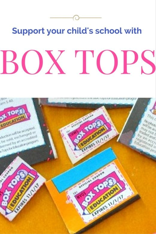 Support your child's school with Box Tops- MommySnippets.com #BoxTopsForEducationSweepstakes #BoxTopsForEducationinTexas #BoxTopsForEducation #Sponsored