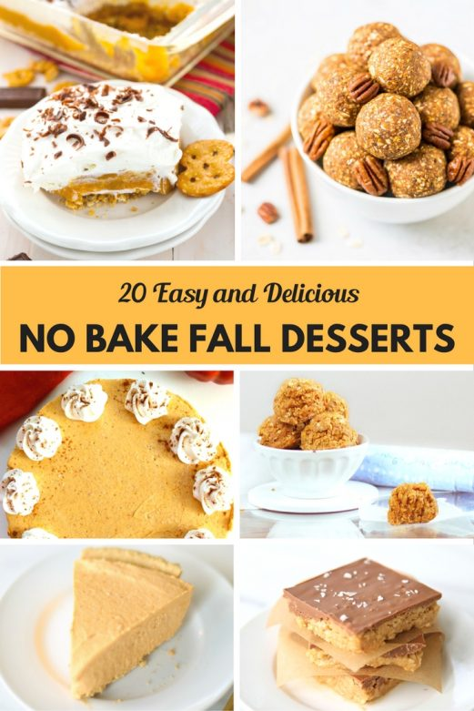 20 easy and delicious no bake fall desserts mommysnippets com