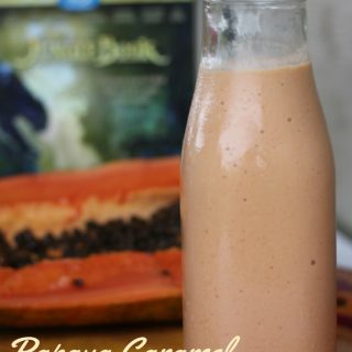 Watch The Jungle Book and enjoy a Papaya Caramel Thick Shake