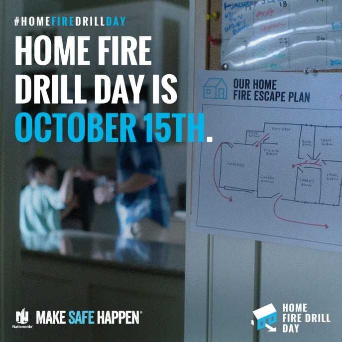 why is home fire drill day so important