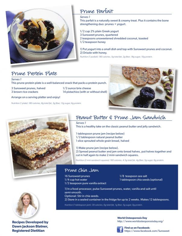 Easy to make prune recipes