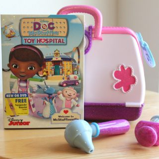 The new Doc Mcstuffins Toy Hospital Kit and DVD is here! {+ A Giveaway}