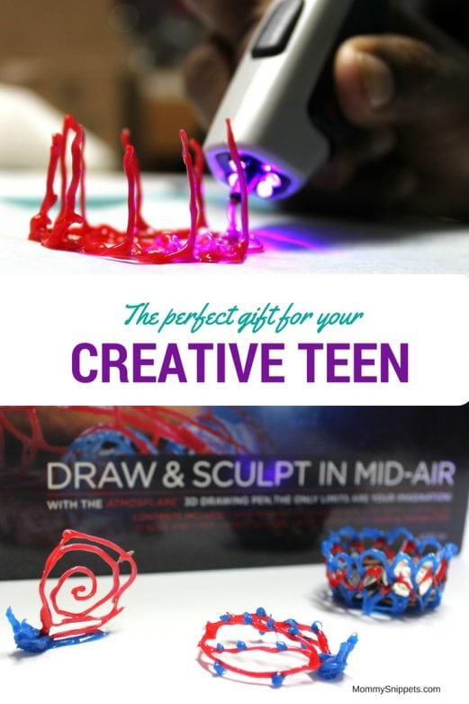 The perfect gift for your creative teen-MommySnippets.com #3Dpen #Funwith3D #Sponsored