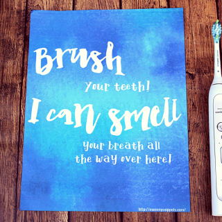 I just found the smart way to brush my teeth! (+ FREE Printable)