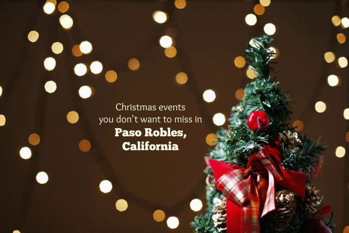 Christmas events Paso Robles California