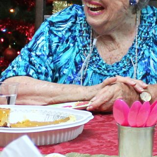How can you make this Christmas happier for the elderly?