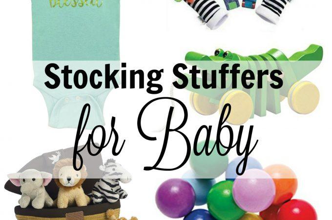 20 Stocking Stuffers every Baby will Love