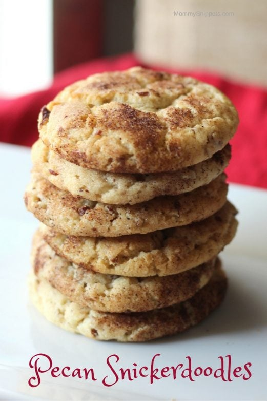 The easy way to make delicious pecan snickerdoodles- MommySnippets.com #BakeWithBetty #Sponsored (1)