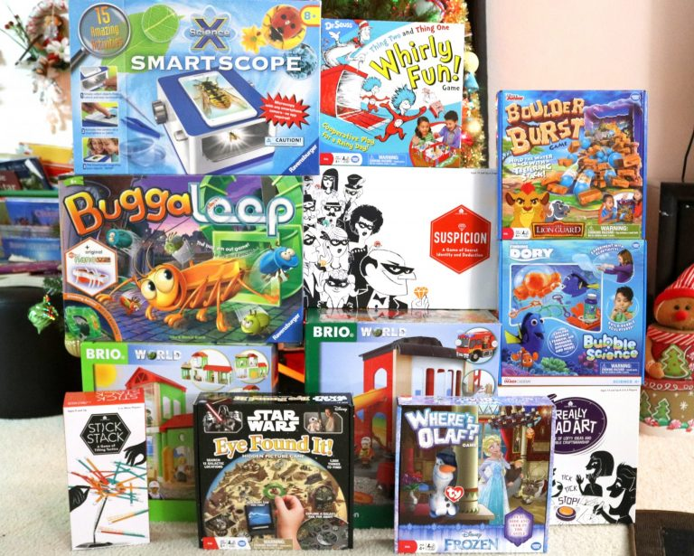 Gift a game. Gift hours of family fun.