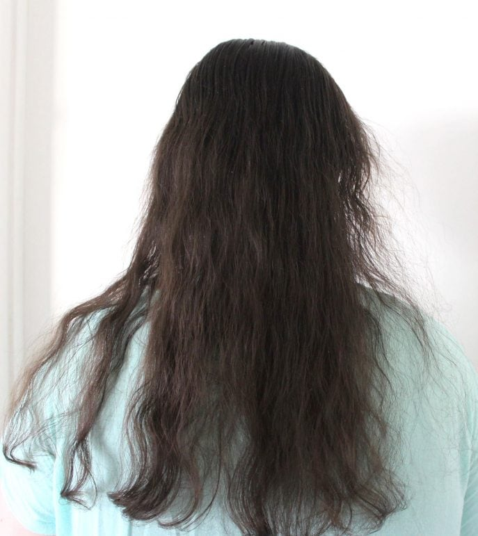 Hair Style Questions : has a combination of straight hair and slightly wavy hair so we weren ...