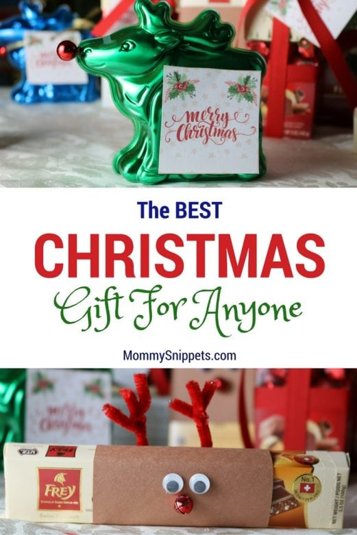 The best Christmas gift for anyone on your list -MommySnippets.com #FreyHoliday #ChocolatFrey AD