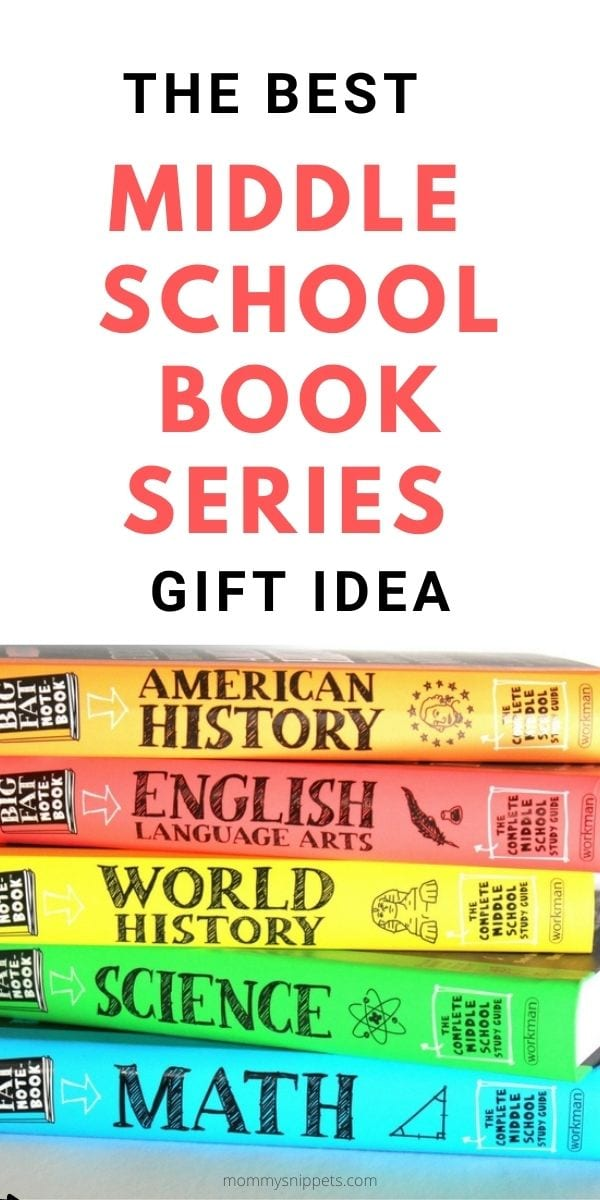 The best middle school book series gift idea- MommySnippets.com