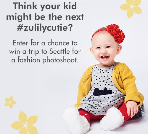 Is your adorable baby the next #zulilycutie ?