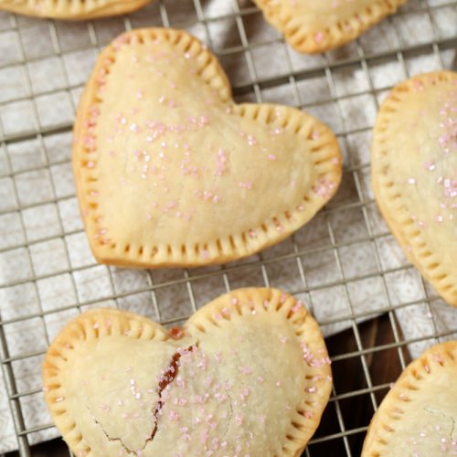 How to make heart shaped strawberry pastries for Valentine's Day- MommySnippets (3)