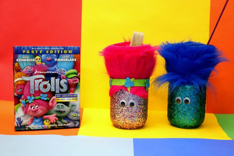 How to make your own Trolls movie inspired holder.