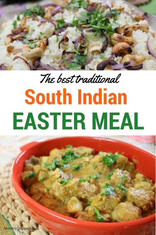 How to celebrate Easter with simply the best, traditional South Indian meal- #WorldMarketTribe #ad