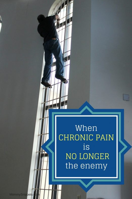 When chronic pain is no longer the enemy- MommySnippets.com #StopPainNow #CollectiveBias #ad