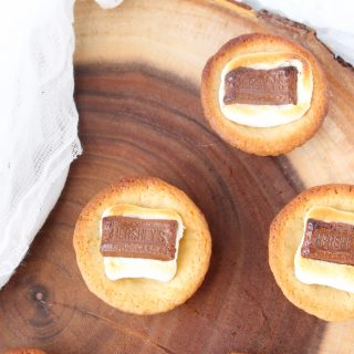 How to make S'mores Cookie Cups