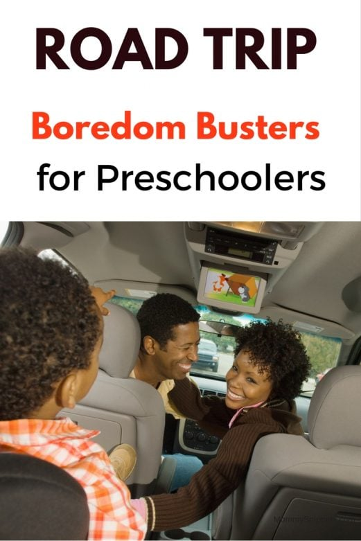 Road trip Boredom Busters for Preschoolers- MommySnippets.com
