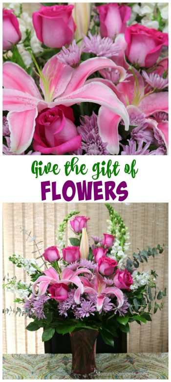 Give the gift of flowers this Mother's Day- MommySnippets.com #Teleflora #ImJustLikeHer #ad (1)