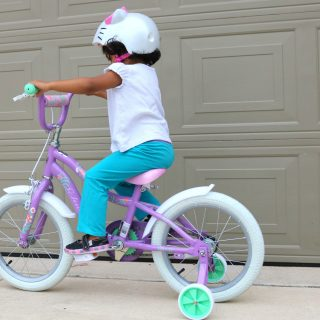 How to get your child excited about her first bicycle (+ Sweepstakes)