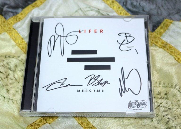 """Cracker Barrel carries the exclusive MercyMe deluxe """"LIFER"""" album"""