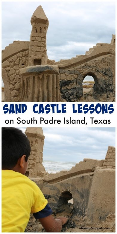 Sandcastle Lessons on South Padre are not to be missed! (A Photo Journal)- MommySnippets.com #MySpi #VisitSouthPadre #hosted