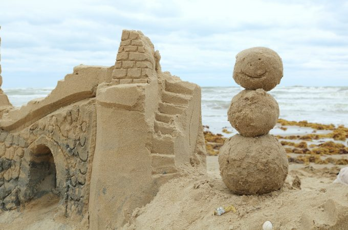 Sandcastle Lessons on South Padre are not to be missed! (A Photo Journal)