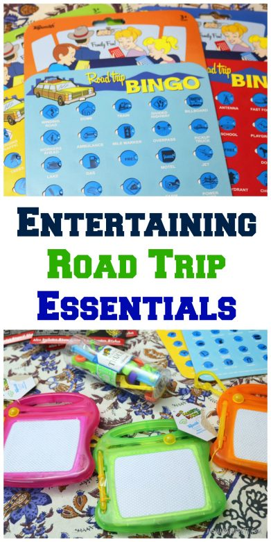 Entertaining Road Trip Essentials From World Market- MommySnippets.com