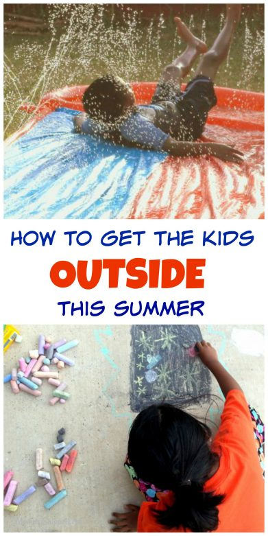 How to get the kids outside this summer- MommySnippets.com #WonderWomanAtSamsClub #ad