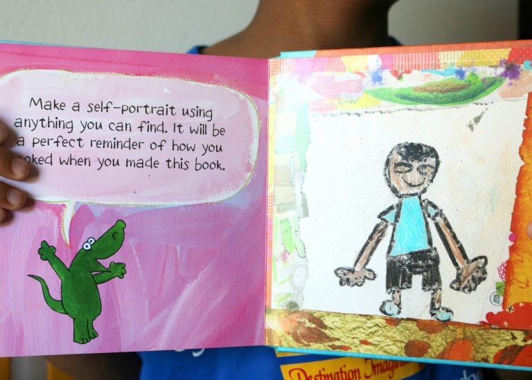 Encourage your child's creativity with My Book of Beautiful Oops!