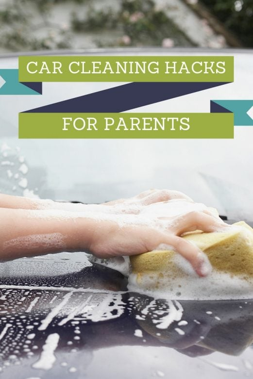 Useful Car Cleaning Hacks for Parents- MommySnippets.com