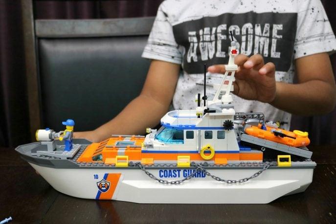 Lego 2017 Coast Guard