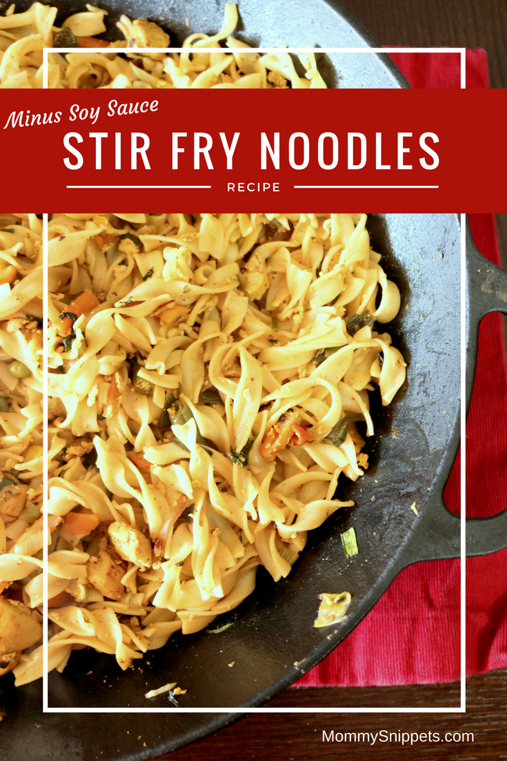 How to make the best stir fry noodles minus soy sauce- MommySnippets #Recipe #NoYolks #NoOtherNoodle #IC (ad)