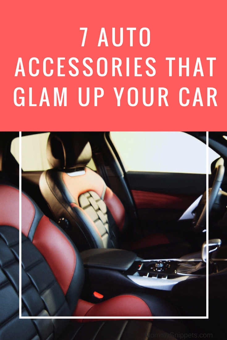 7 Auto accessories that glam up your car- MommySnippets.com