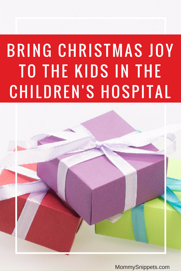 Bring Christmas joy to the kids in the children's hospital - MommySnippets.com #GiftThemJoy #DiscoverWorldMarket #ad