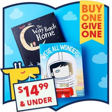 The ultimate BUY ONE GIVE ONE holiday book fair on zulily