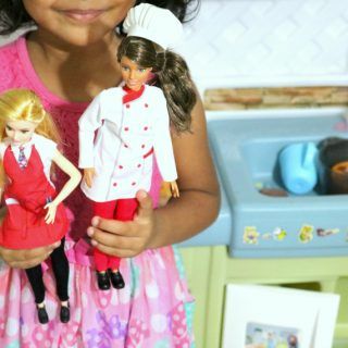 Dolls that inspire girls to be anything they want to be