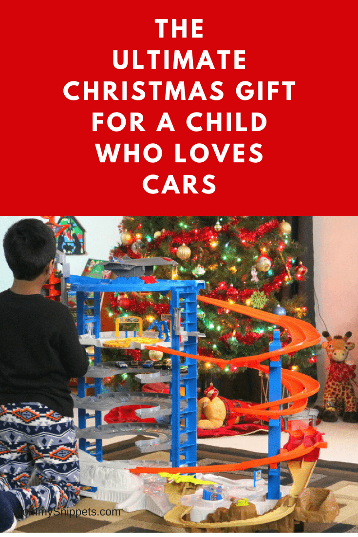 THE ULTIMATE CHRISTMAS GIFT FOR A CHILD WHO LOVES CARS- MommySnippets.com #WalmartHotWheels #Sponsored