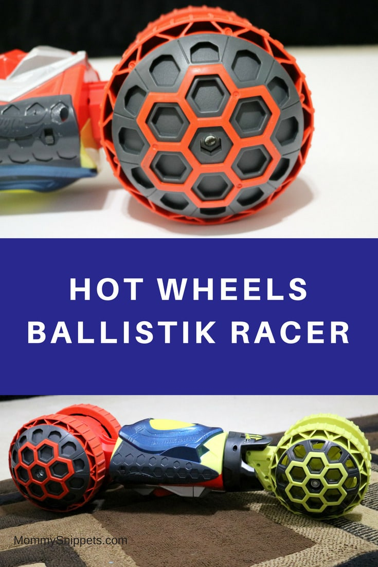 The Hot Wheels Ballistik Racer is the perfect gift for an 8 year old- MommySnippets.com #WalmartHotWheels #Sponsored