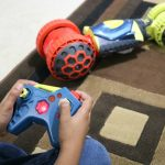 The Hot Wheels Ballistik Racer is the perfect gift for an 8 year old