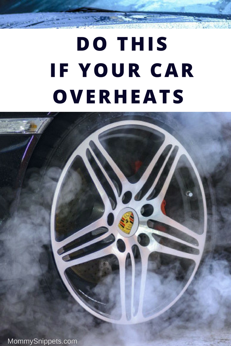 Do This if Your Car Overheats So You Can Drive Home Safely - MommySnippets.com