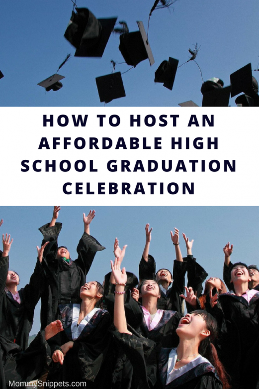 How to host an affordable high school graduation celebration