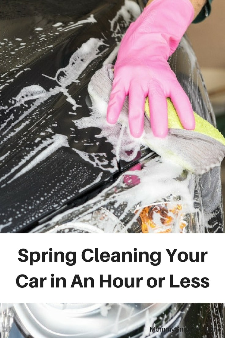 Spring Cleaning Your Car in An Hour or Less - MommySnippets.com