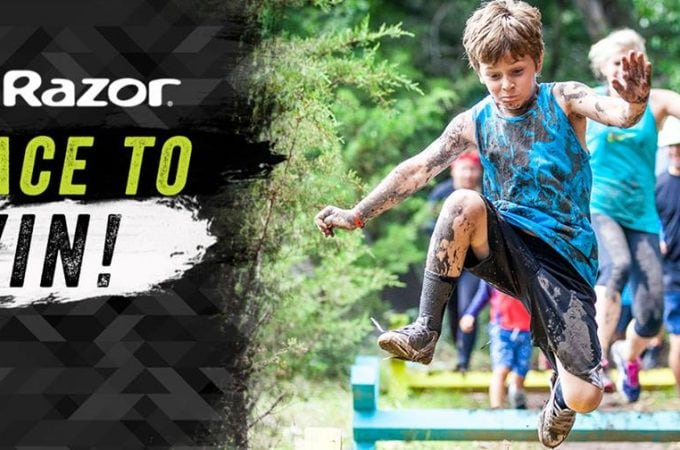 Calling all Austin families to join the Kids Obstacle Challenge on 4/21 (+ A Quick Ending Razor Scooter Giveaway)