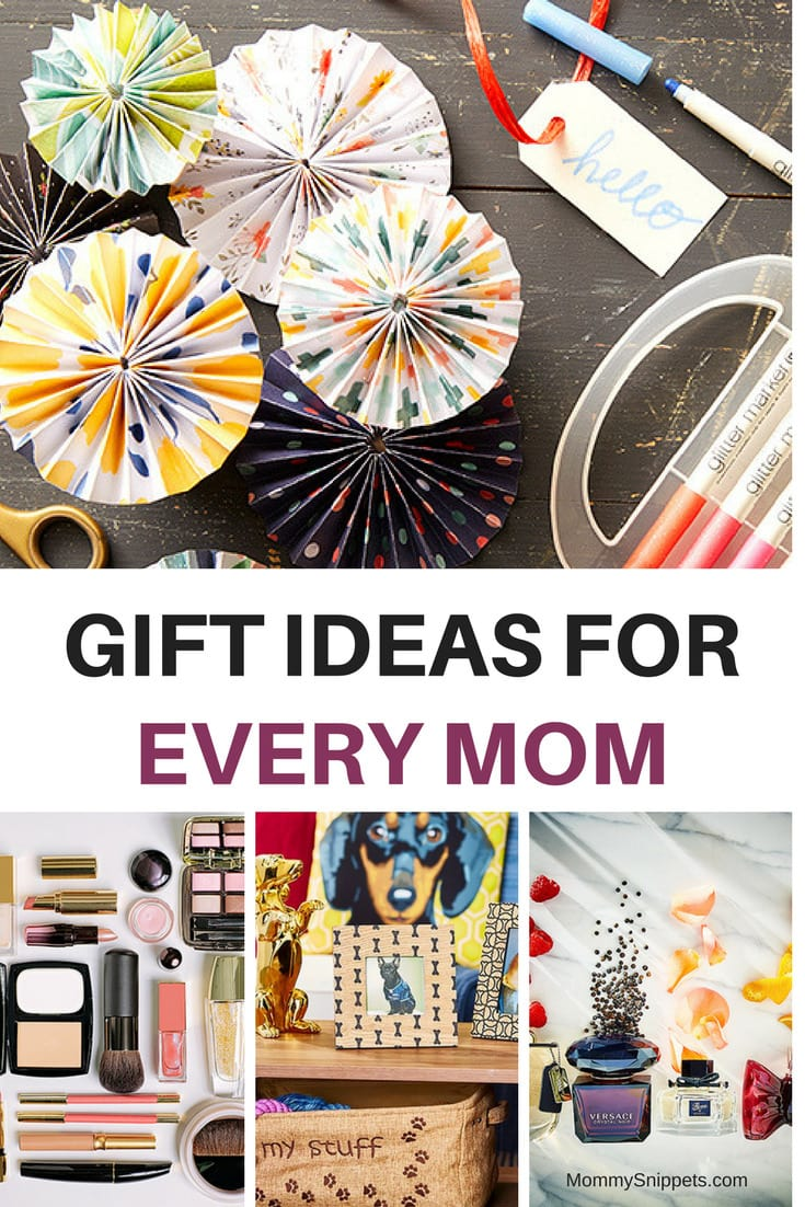 The perfect gift for THAT mom _ Great gift ideas for every mom on your list.- MommySnippets.com