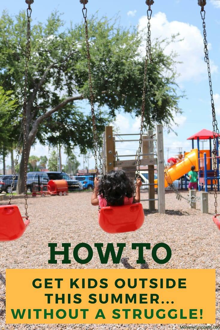How to get kids outside this summer- MommySnippets.com #TruMoo #Sponsored